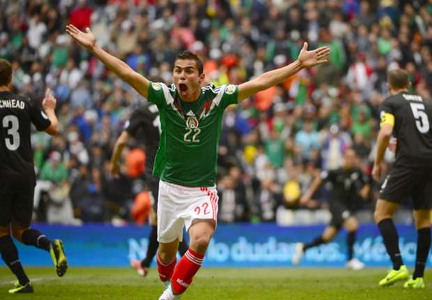 Mexico wing-back Paul Aguilar