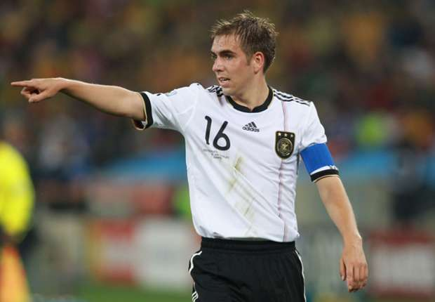 Germany captain Philipp Lahm
