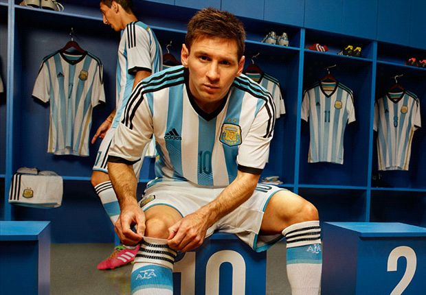 Will Messi win the World Cup wearing this? Argentina reveal new kit