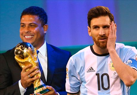 Ronaldo: Messi has abandoned us