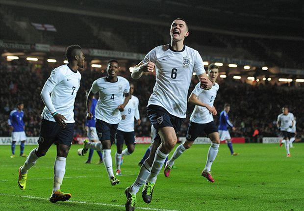 Michael Keane England U21 v Finland U21 European Under 21 จีคลับ