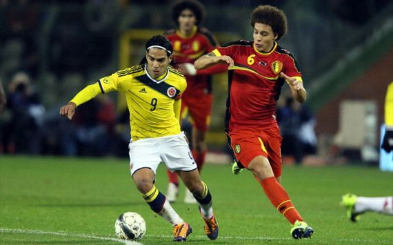 Belgium vs Colombia - november 2013