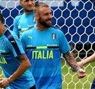 Incertain pour l'Allemagne, De Rossi s'est entraîné