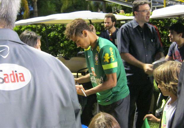 GBGT Diary: Day 1 – Neymar, Willian and light training