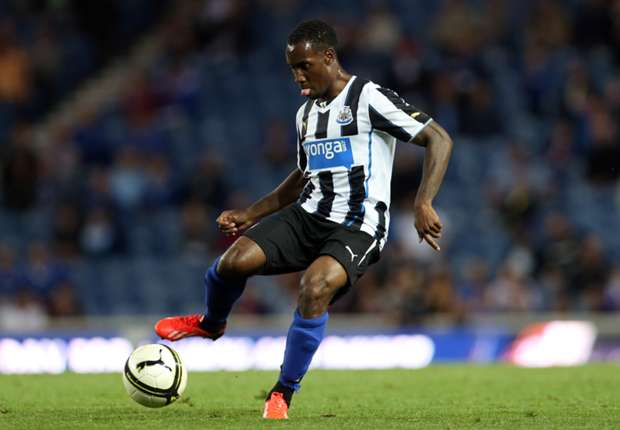 Newcastle boss Pardew impressed with Anita progress