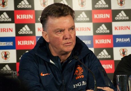 Van Gaal: Not a good draw for Netherlands