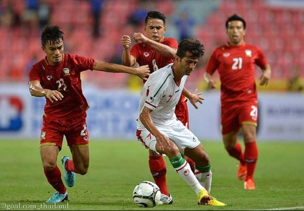 The Thais crashed 3-0 at home to Iran in the 2015 AFC Asian Cup qualifiers.