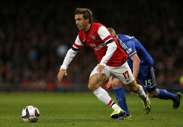 Arsenal defender Nacho Monreal