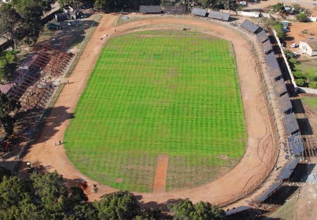 Aerial view of the newly refurbished Machakos Stadium