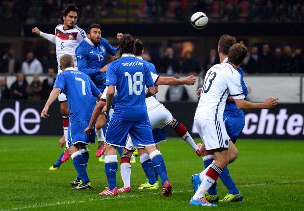 Italia & Jerman Bermain Imbang