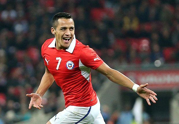 England 0-2 Chile: Alexis double ends Hodgson's unbeaten run