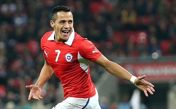 Alexis Sanchez England v Chile - International Friendly  11152013
