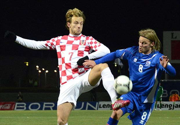 Iceland 0-0 Croatia: Ten-man hosts battle to draw to keep World Cup hopes alive