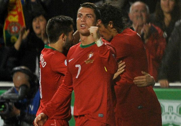 Ronaldo 1-0 Zlatan: Portugal's star man lands the first blow