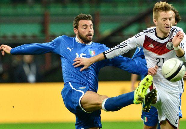 Italia Minus Andrea Barzagli Lawan Nigeria