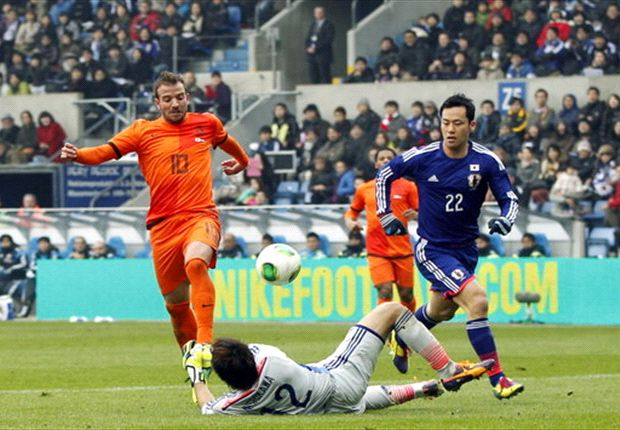 Netherlands 2-2 Japan: World Cup hopefuls share spoils in four-goal thriller
