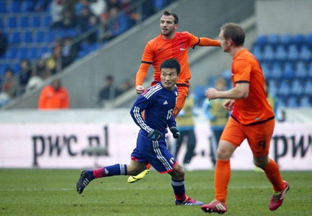 Samurai Biru memaksa Oranje bermain imbang