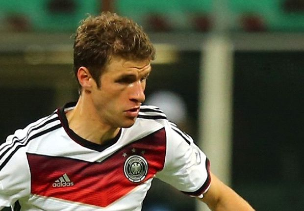 Deutschlands Nationalspieler Thomas Müller