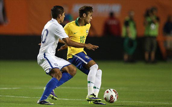 Neymar - Honduras vs Brazil