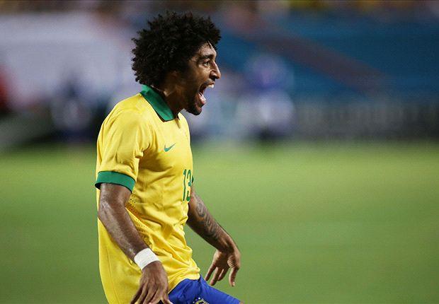 Dante übernham im Laufe des Spiels die Kapitänsbinde von David Luiz