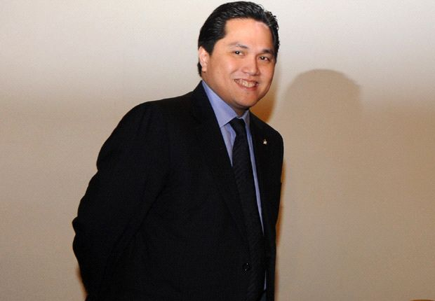 'Messi? I'll talk to the management' - Thohir jokes at swoop for Barcelona star