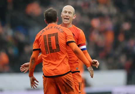 Robben: Van der Vaart a huge loss