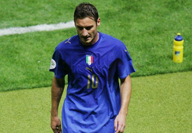 Prandelli: No Italy return for Totti