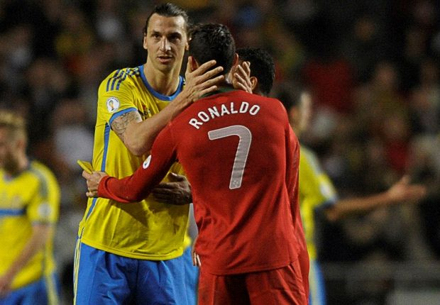 Ibrahimovic: I did not applaud Ronaldo