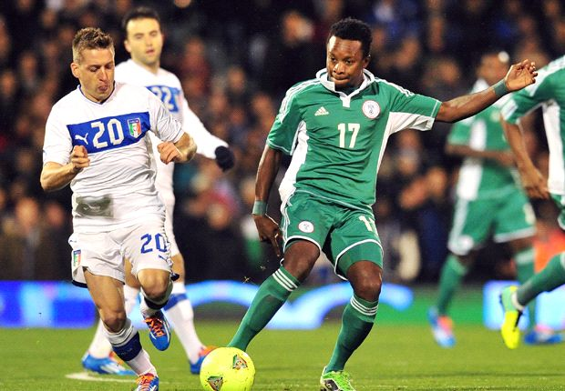 Nigeria midfielder Onazi: I want to win the World Cup