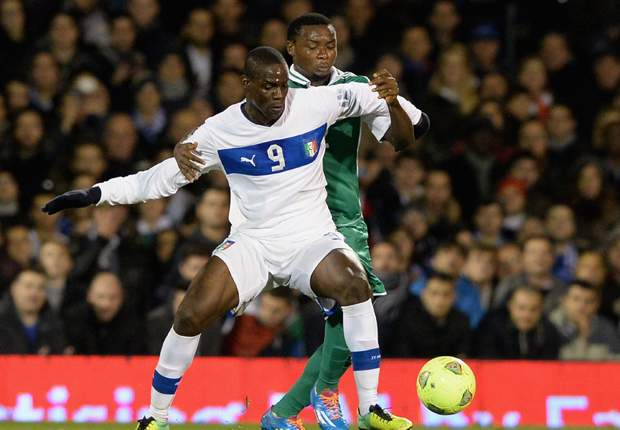 Mario Balotelli Italia Nigeria Friendly 11182013