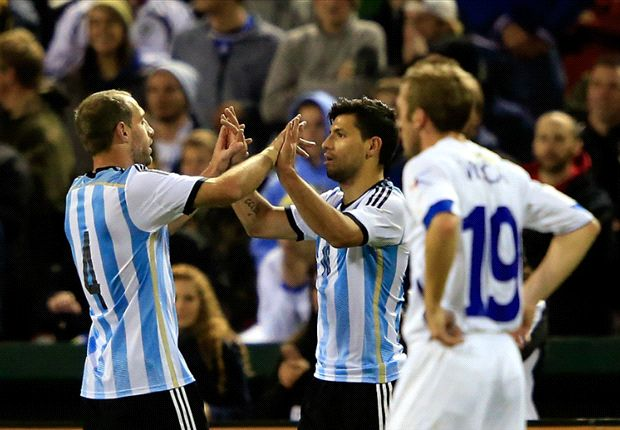 Argentina 2-0 Bosnia-Herzegovina: Aguero double returns Albiceleste to winning ways