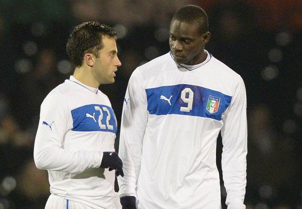 Ein Duo mit großem Potenzial: Mario Balotelli und Giuseppe Rossi