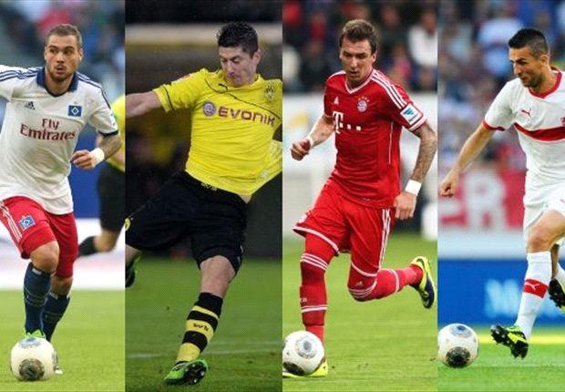 Wer trifft am 13. Spieltag der Bundesliga?