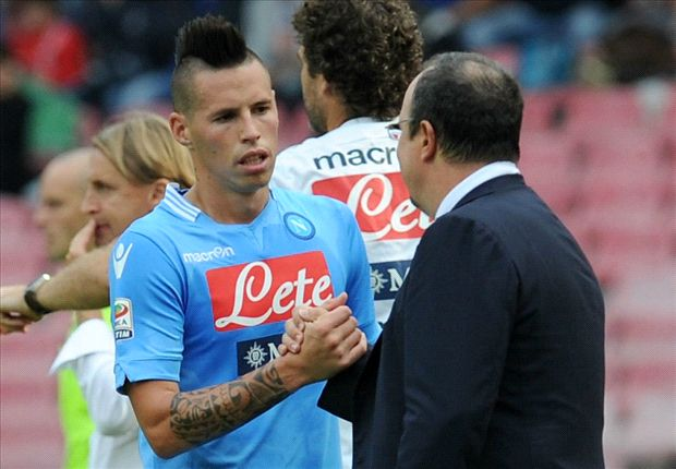 Benitez: Hamsik needs to become a leader