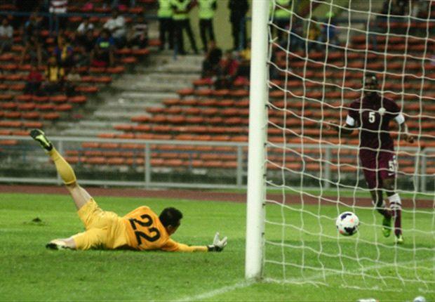Khairul Fahmi had no way of stopping Al-Ali's goal.