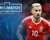 MOTM Wales 3-1 Belgia: Ramsey