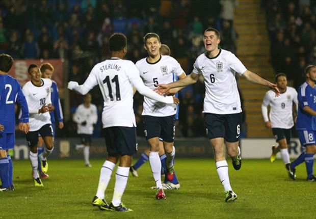 England Under-21s 9-0 San Marino Under-21s: Southgate's Young Lions run riot
