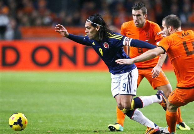 Ron Vlaar is blij met de prestatie van Oranje tegen Colombia