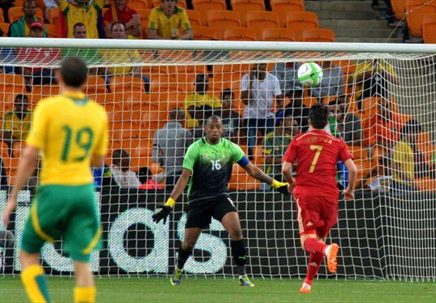 Del Bosque slams Spain display