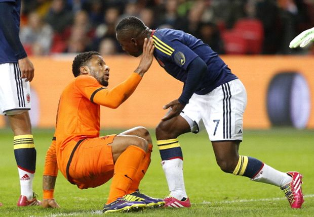 Netherlands 0-0 Colombia: Ten-man Oranje extend unbeaten run to 17 games