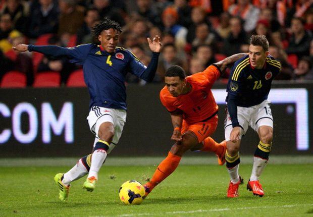 Colombia empató 0-0 con Holanda