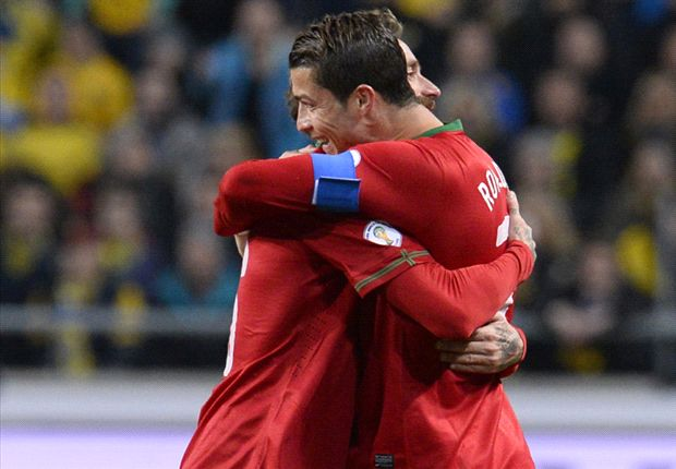Sweden 2-3 Portugal (agg 2-4): Ronaldo hat-trick puts Ibrahimovic in the shade
