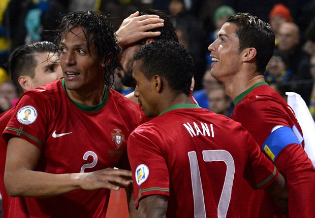 Ronaldo equals Pauleta's Portugal record