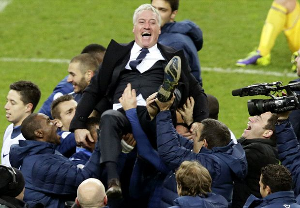 Champions' comeback: France roll back the years at scene of 1998 World Cup win
