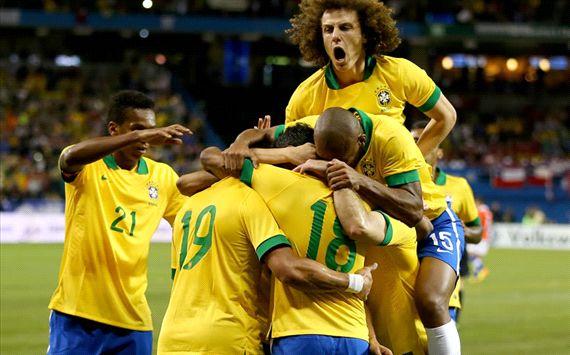 Amistoso: Brasil-Chile