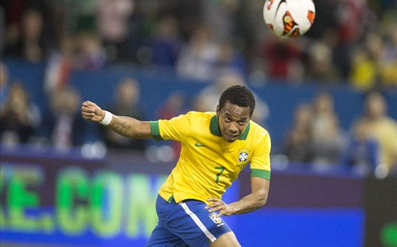 Robinho Brazil Chile Intl Friendly 11192013