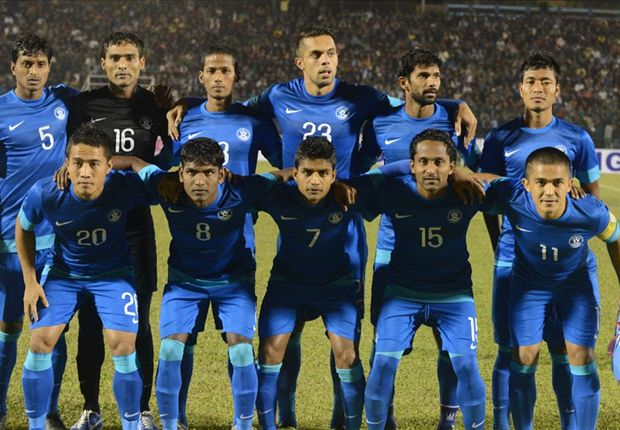 India ranked 148th by FIFA