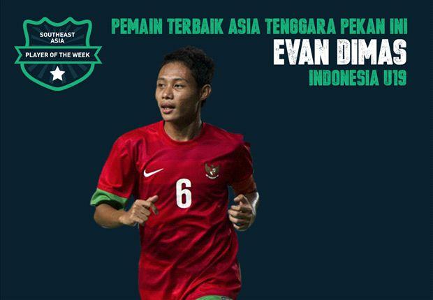 Evan Dimas memimpin Indonesia menjuarai AFF U-19