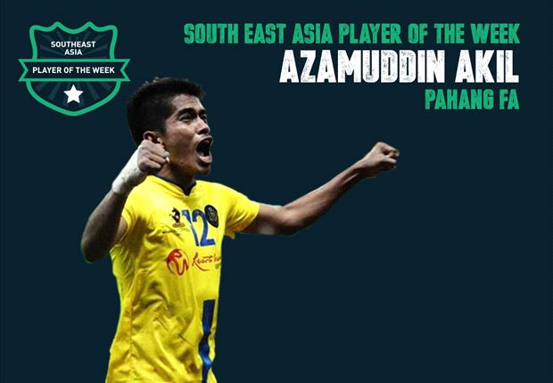 Goal Southeast Asia Player of the Week - Azamuddin Akil