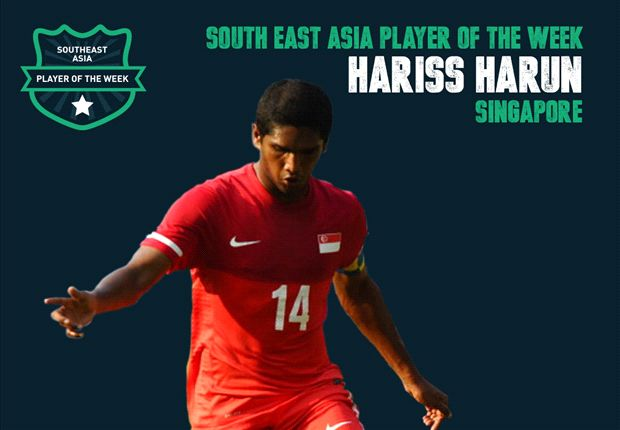 Hariss Harun is Goal's Southeast Asia Player of the week